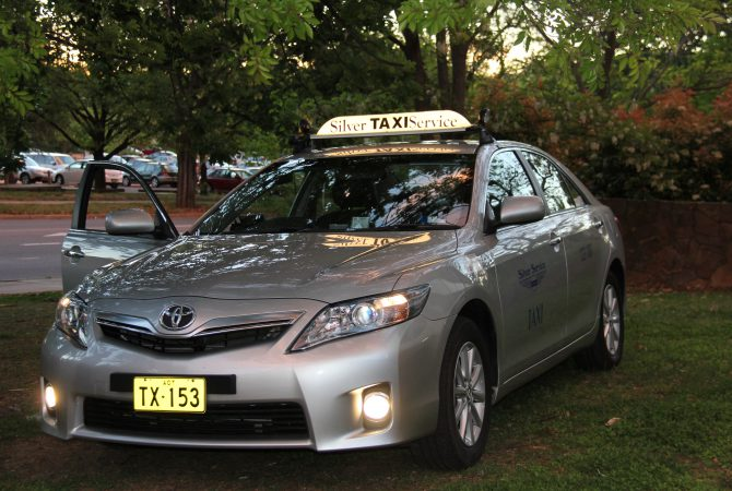 Silver Service Canberra Taxi