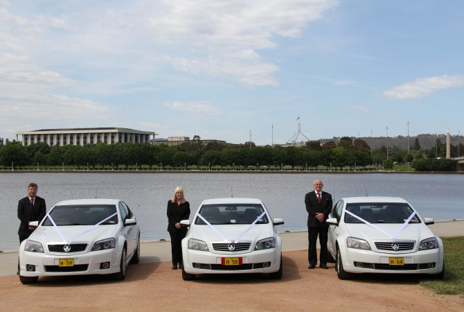 Canberra Hire Cars and Chauffeurs at Lake Burley Griffin