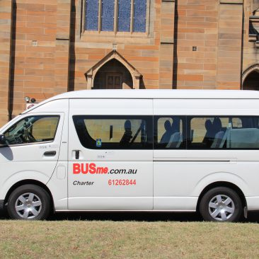 BUSme 13 Seater at the National Film and Sound archives