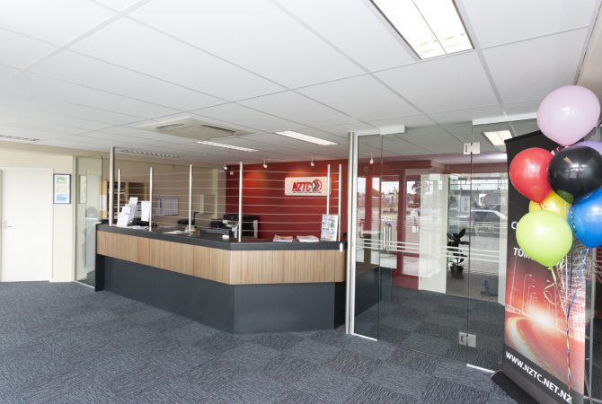 Reception in Palmerston North