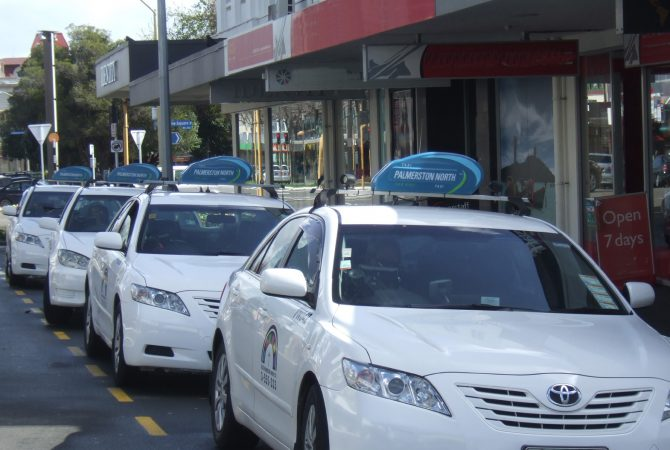 Taxis Palmerston North
