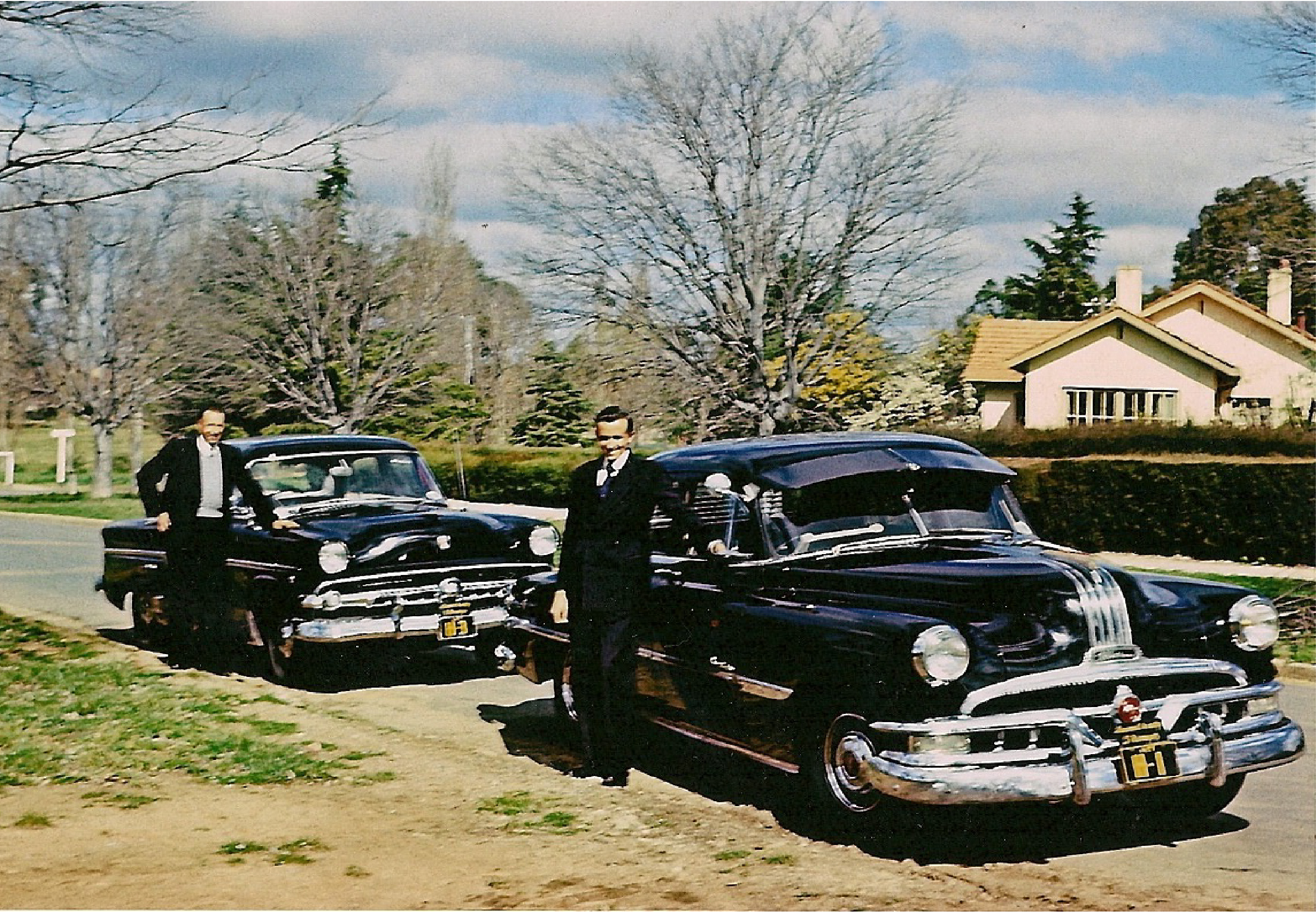 1950's Canberra Horrie and Bruce