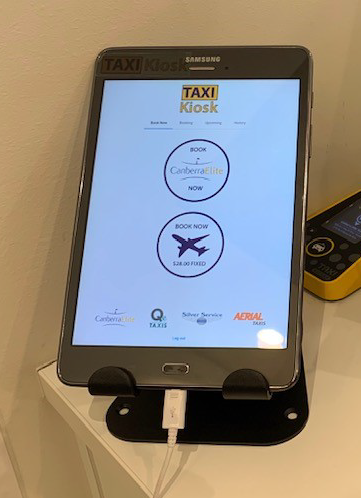 Introducing Taxi Kiosk
