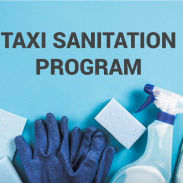 Sanitation Program for our Taxis