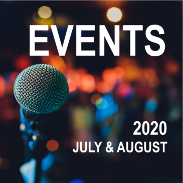 Canberra Events – July and August 2020