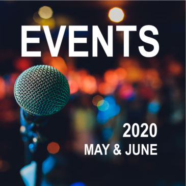 Canberra Events – May & June 2020