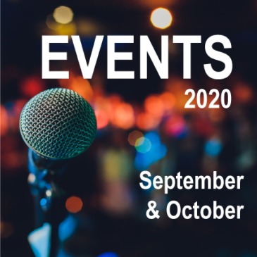 Canberra Events – September and October 2020